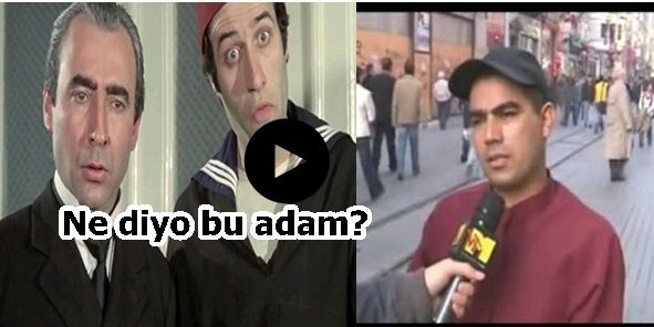 En Komik Sokak Röportajları ve Efsane Cevaplar (Kemal Sunal,Şener Şen)