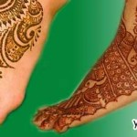 Mehndi Design For Bridal Collection : Latest bridal mehndi designs for feet