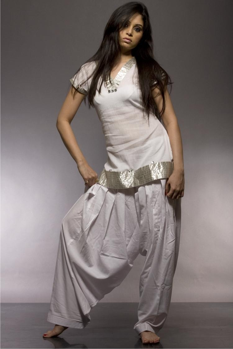 White Salwar Suits Designs Latest Charming Dresses