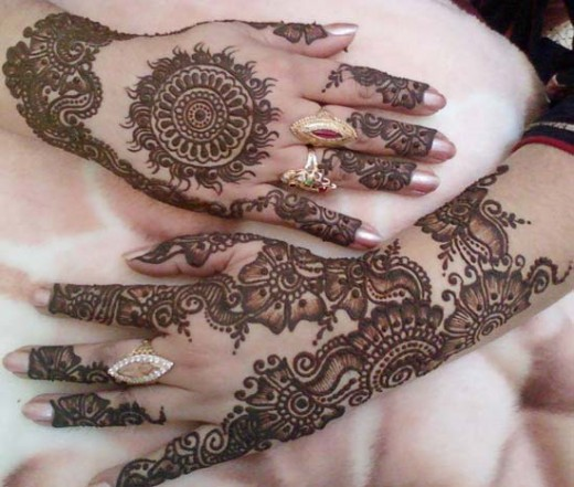 Mehndi Hands Poetry : Mehndi designs