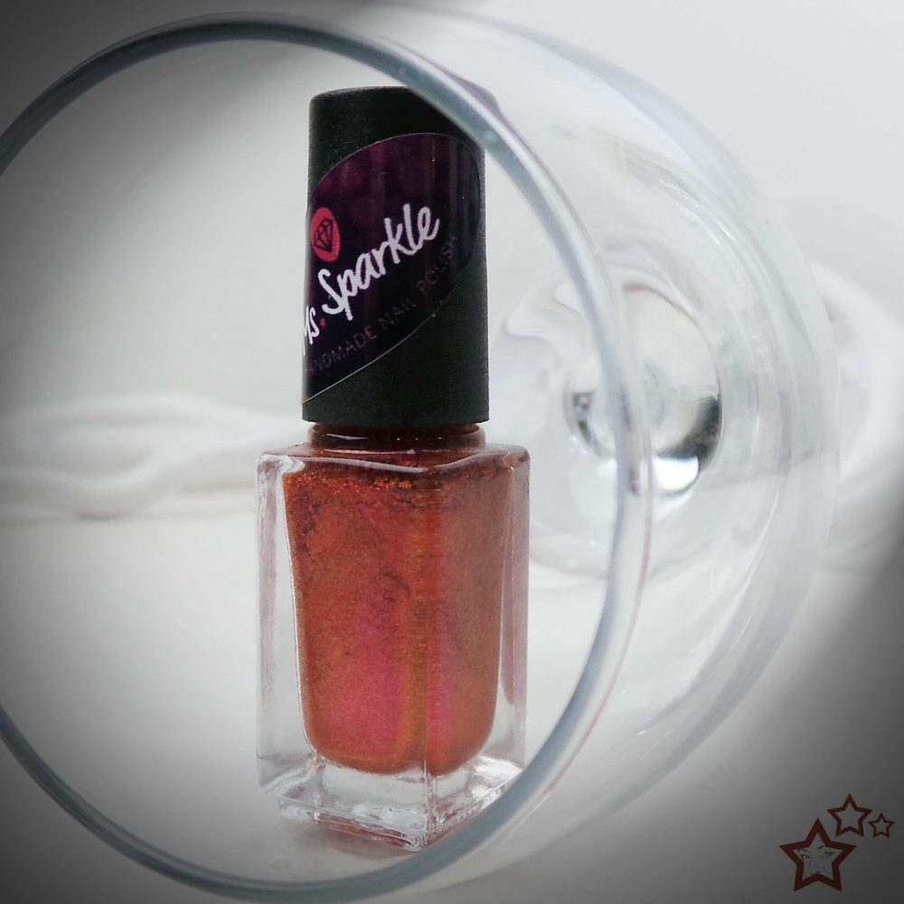 Because wine makes me… | Ms. Sparkle | Swatched it