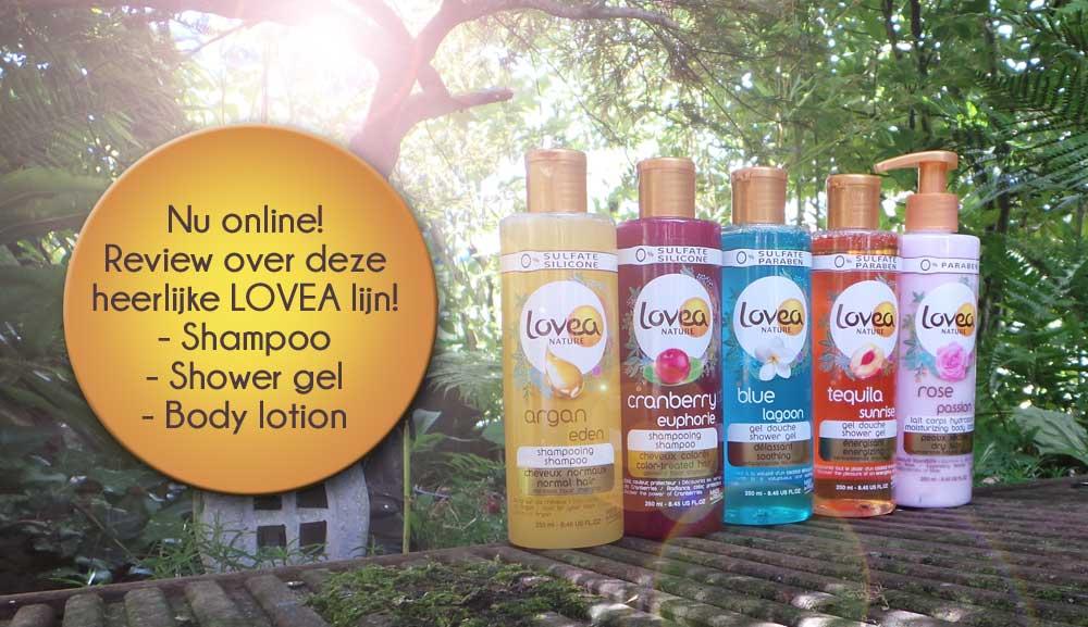 Lovea nature | HAIR & BODYCARE | nieuwe lijn lancering
