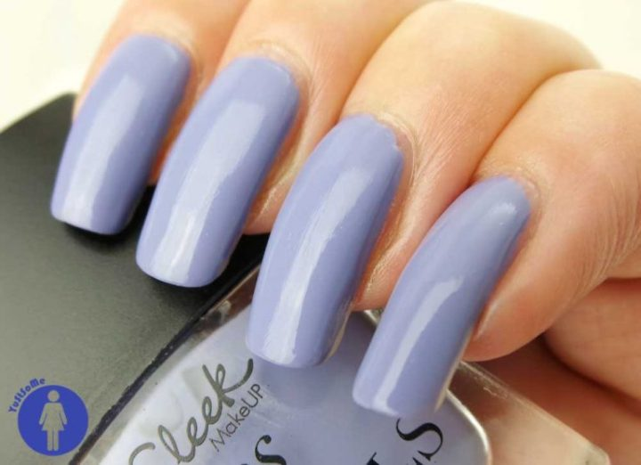 Sleek Smokin Violet 006 review swatch yustsome nailpolish nagellak nails