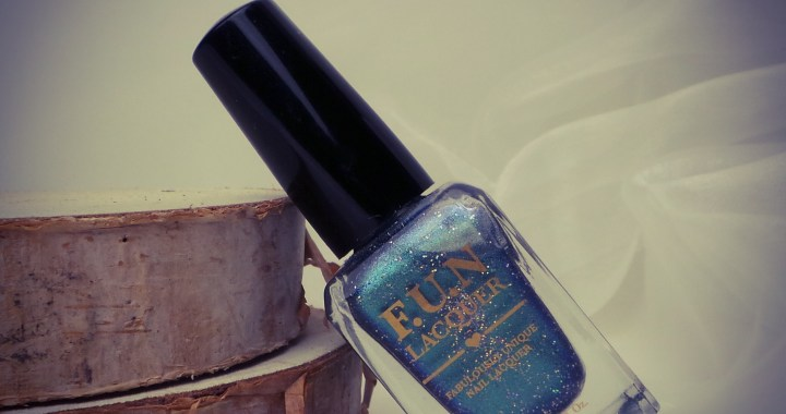 Fun lacquer swatched it yustsome review blogger bachelors button
