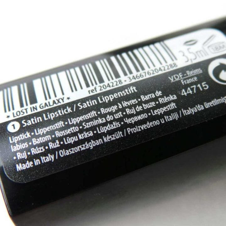 lost-in-galaxy-douglas-make-up-cosmetica-yustsome-review-beauty-Lipstick2