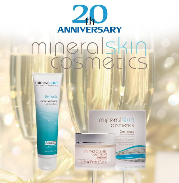 Jubileum Mineral Skin Cosmetics 20 jaar