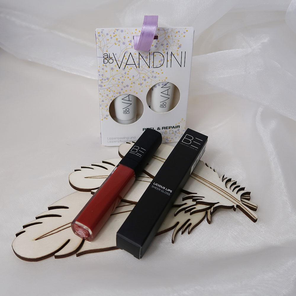 Verzorgde lippen en een mooie getinte lipgloss geven jou een naturlal look!