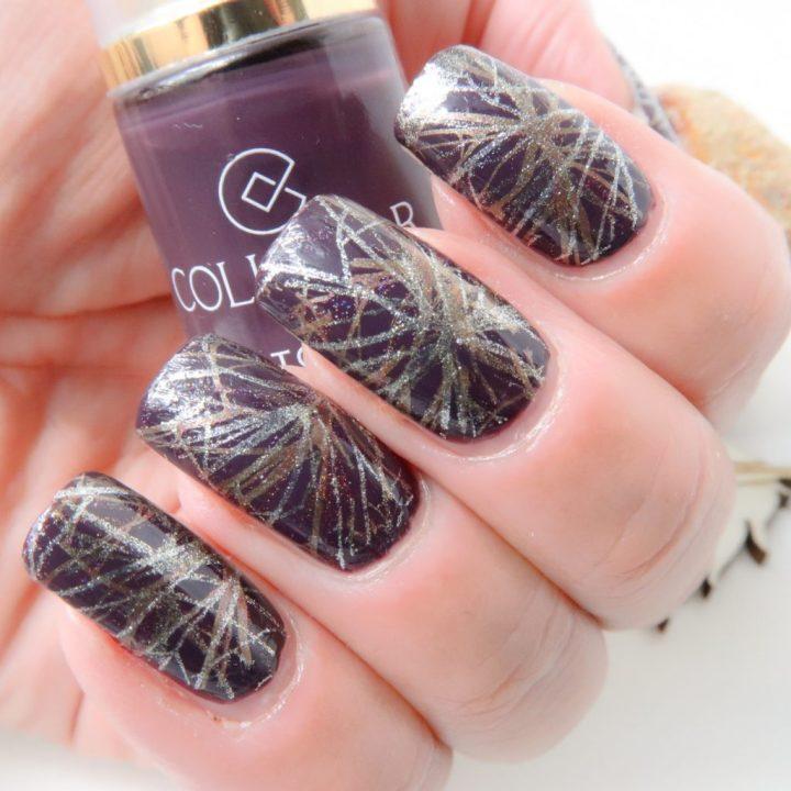 Collistar nailpolish swatched-it purple yustsome nailart borgogne anna natural long nails 6