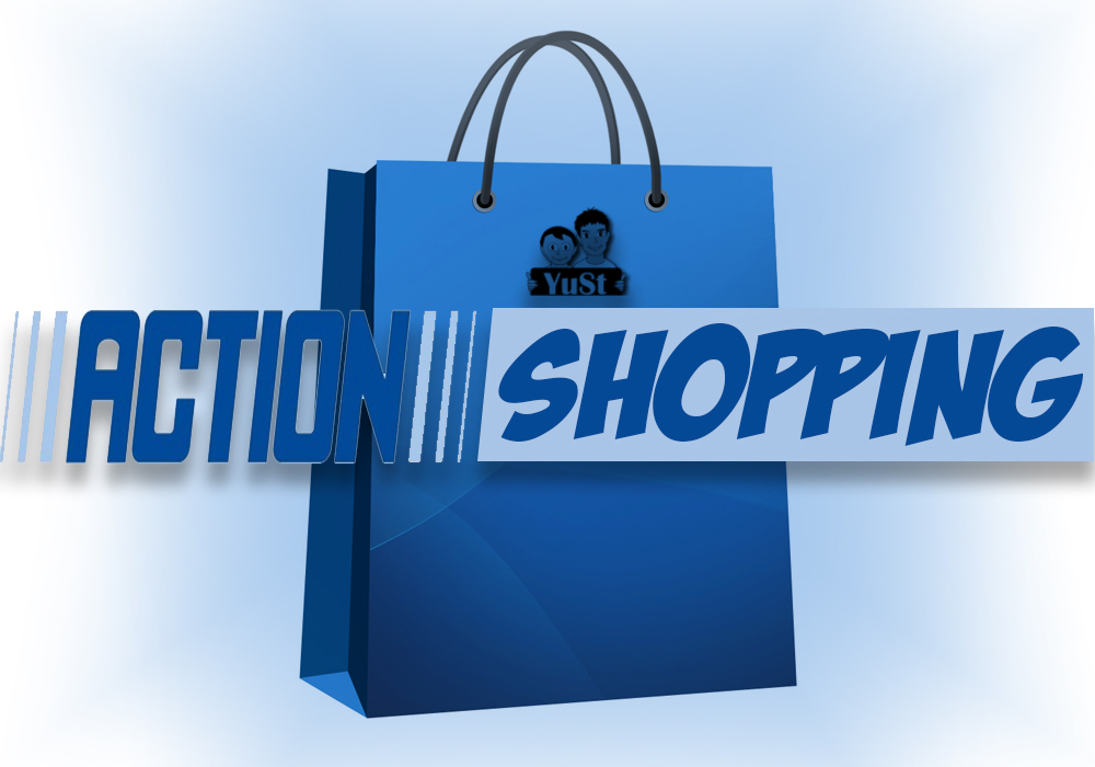 Shoppen bij de Action