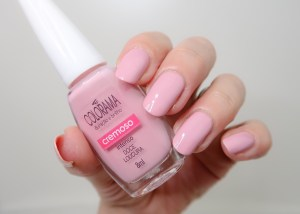 Colorama doce loucura nailpolish nagellak swatch beauty blogger yustsome pink nude