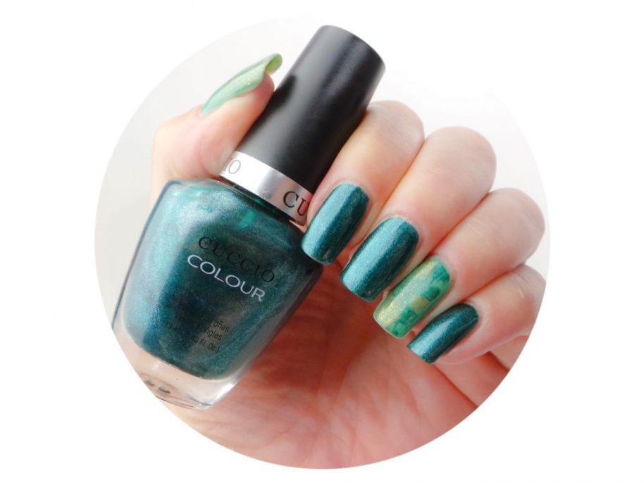 Swatched it, dublin, emerald, isle, cuccio, colour, nail, polish, varnish, ongles, blog, yustsome, beauty