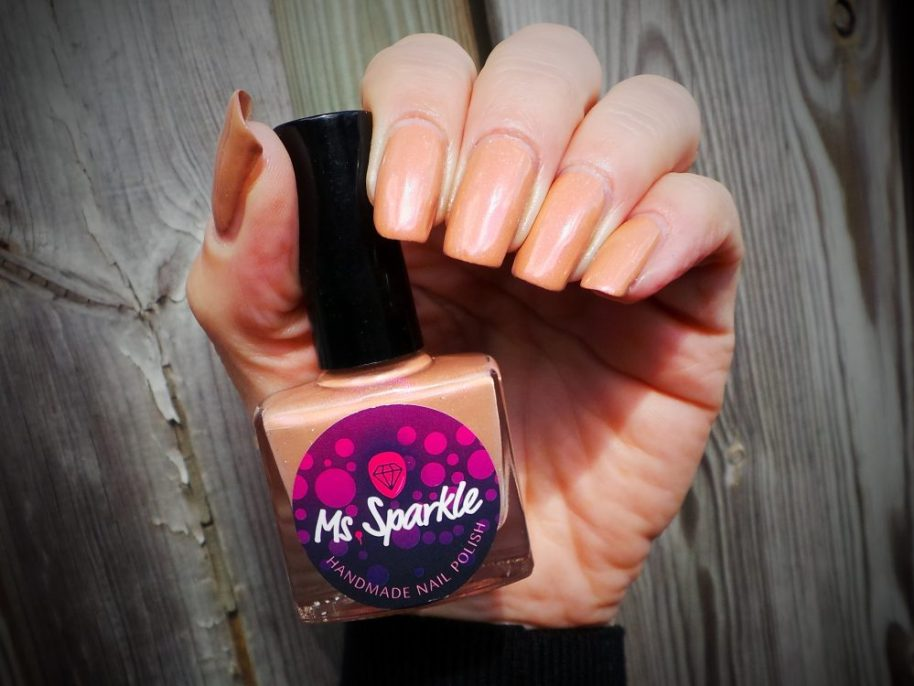 Peace in me, custom, made, nailpolish, nails, polish, ms. Sparkle, etsy, shifting, pink, nude, beauty, vernis, ongles, yustsome