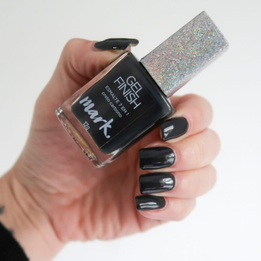 Swatched, preto carbono, nailpolish, black, grey, antraciet, Mark, vernis, ongles, nagelack, nails, beauty, blog, yustsome