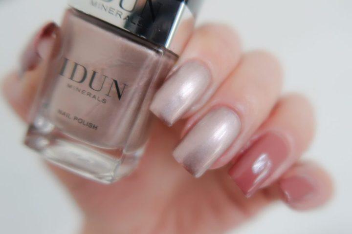 Idun, minerals, make-up, cosmetica, nagellak, review, beauty, blog, yustsome, swatch, nagellak, nails, vernis, ongles