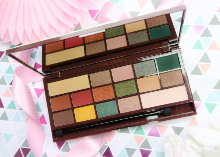 Mint, Chocolat, palette, eyeshadow, i, heart, make-up, make-up, beauty, blog, blogpost, yustsome, mua