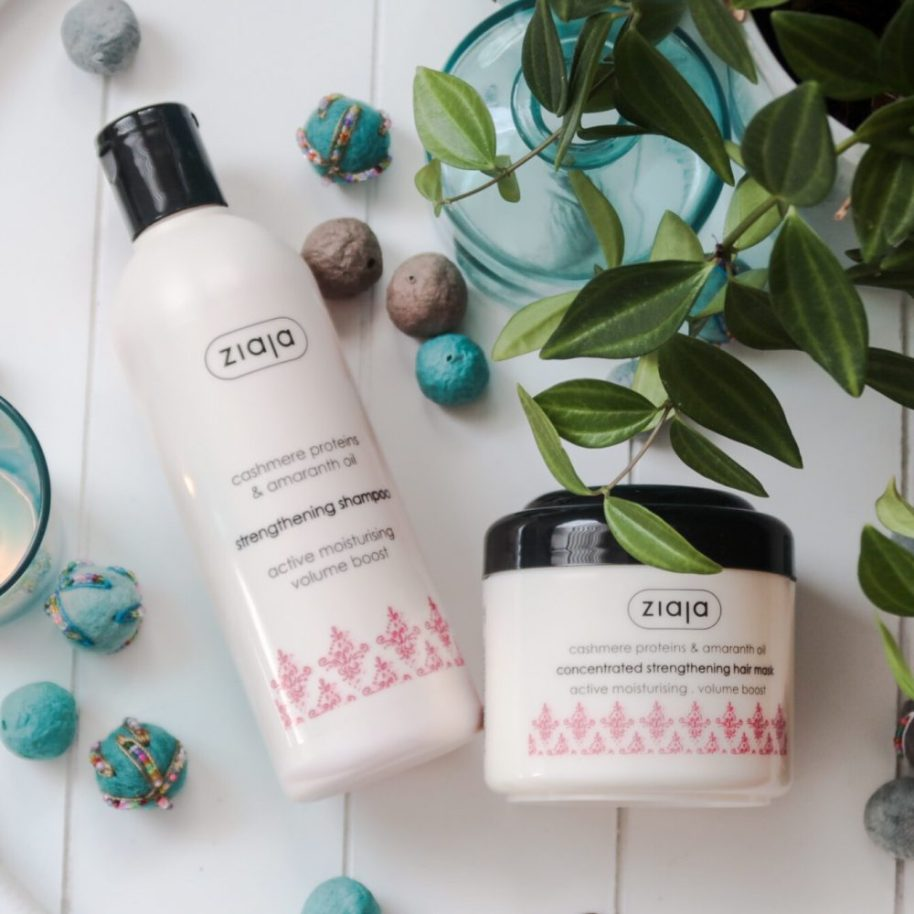 Ziaja, focus on skin, CASHMERE, shampoo, mask, haircare, haarverzorging, beauty, blog, blogger, cosmetica, droog, haar, yustsome, beauty