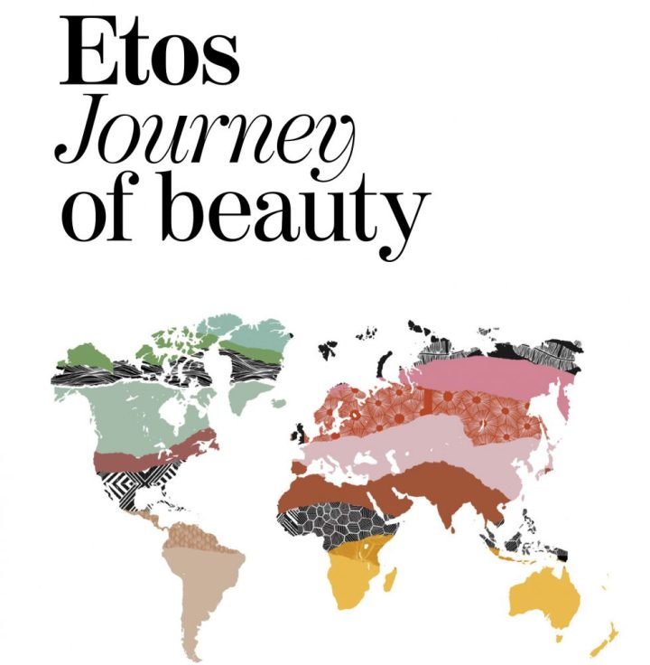 Etos, journey, beauty, wereld, reis, beauty, producten, zachte, huid, scrub, douche, foam, yustsome, handcrème,