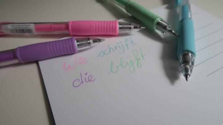 Pilot, pennen, bujo, bullet, journal, creatief, crea, DIY, design, art, lifestyle, blog, yustsome