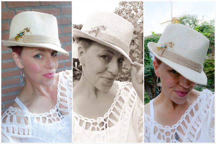 Cotton Club, fashion, damesmode, 50 plus, witte, tuniek, kant, katoen, yustsome, BOOTIEZ, pin, broche