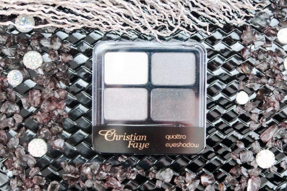 Christian Faye Smokey eyes look met het Quattro palette