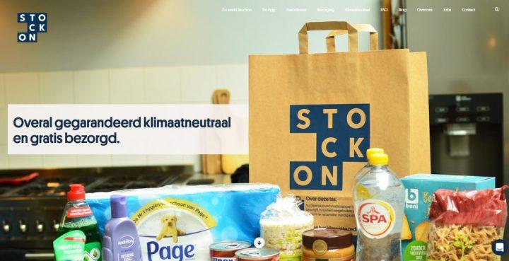 stockon, persbericht, klimaat, neutraal, boodschappen, bio, supermarkt