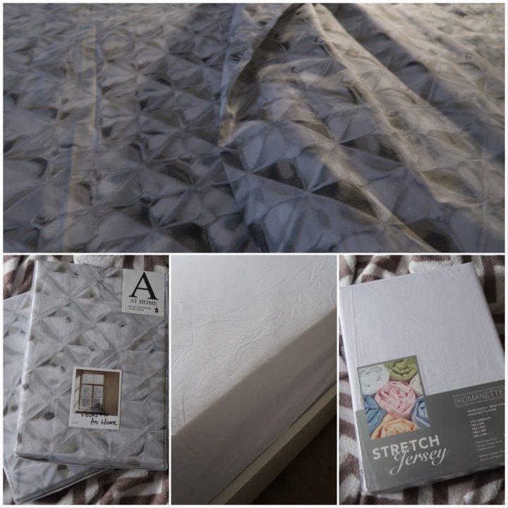 Dekbed, overtrek, 100% Percel, badjas, grijs, glass, at home with Marieke, review, bed, BeautySome, Etrias, bedsuppl