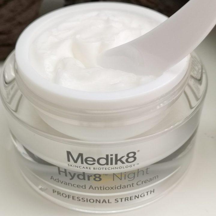 Hydra8, Medik8, hydraterend, nacht, crème, antioxidant, voedend, rijpere, huid, beautysome, night, Cream, review