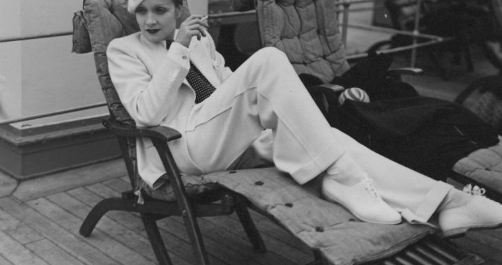 Ode, Marlene, dietrich, fashion, mode, pantalon, flared, androgyn, woman, beautysome, pantalon
