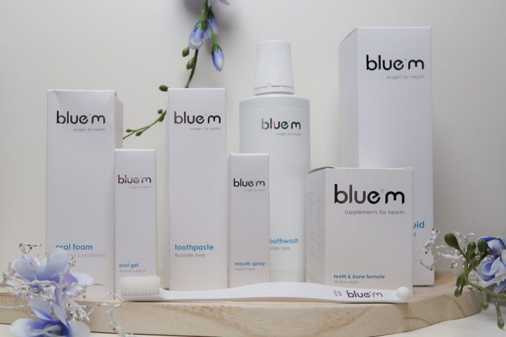 blue®m, mond, gebit, verzorging, bluem, tandpasta, zuurstof, oxygen, supplementen, tandpasta, tanden, Beautysome, review,