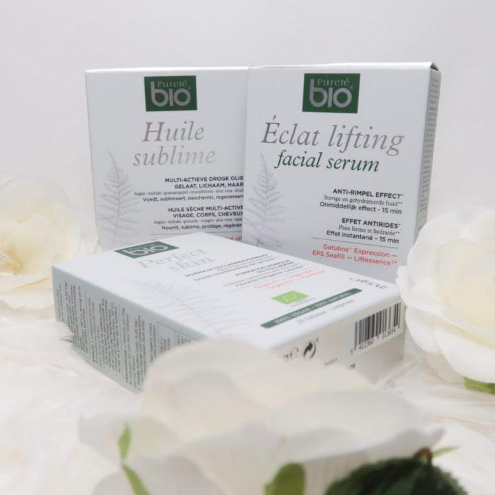 Pureté Bio, Eclat , Facial,Serum, skin, perfect, huile, sublieme, huidolie, pillen, 50 jaar, beautysome