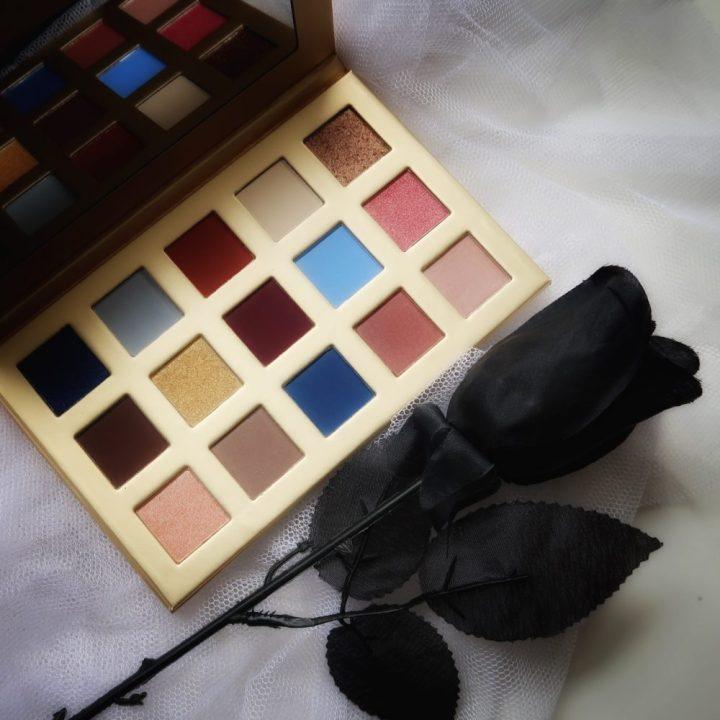 Belle, beast, Disney, eyeshadow, palette, makeup, look, essence, swatches, beautyover50