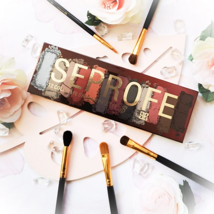 Seprofe, makeup, review, eyeshadow, palette, review, beautysome, ooglook, mua, makeup artist