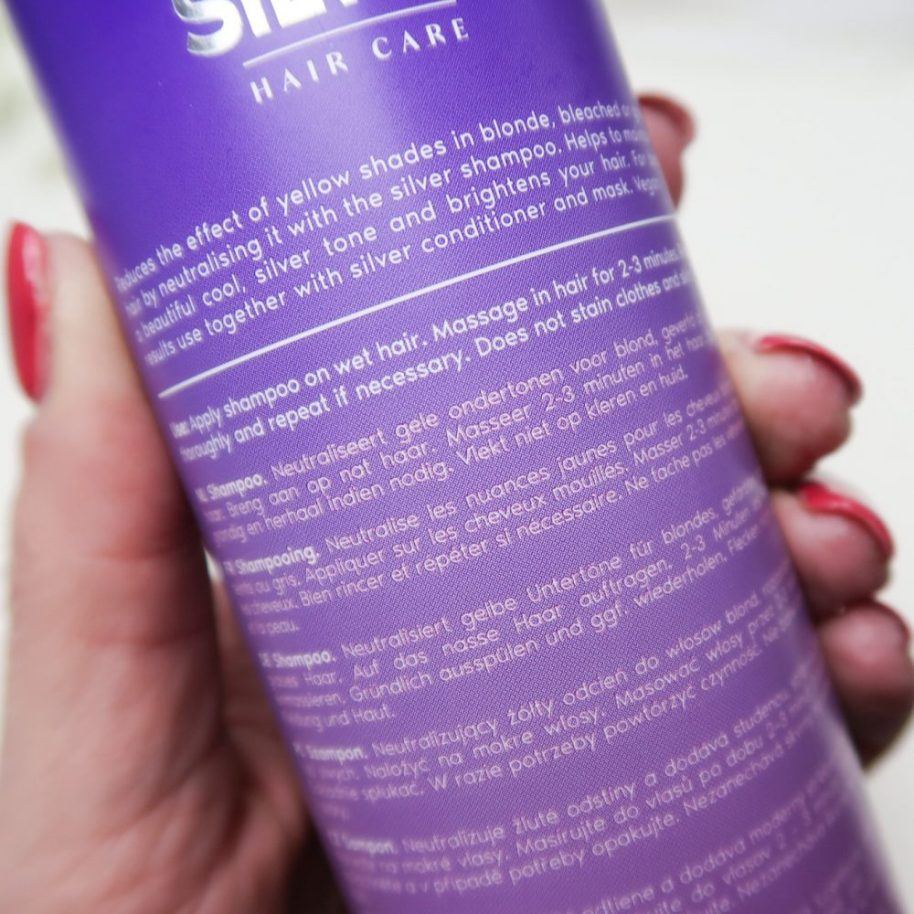 Silver shampoo, zilver, shampoo, blonde, haren, review, action, conditioner, haar, masker, beautysome