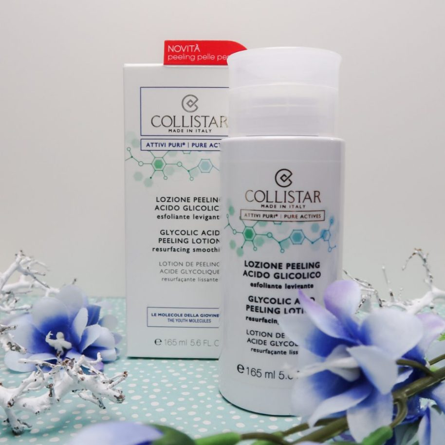 Clycocil, collistar, pigmentvlekken, Peeling, huid, thuis, exfoliëren, poriën, anti-age, ouder, beautysome