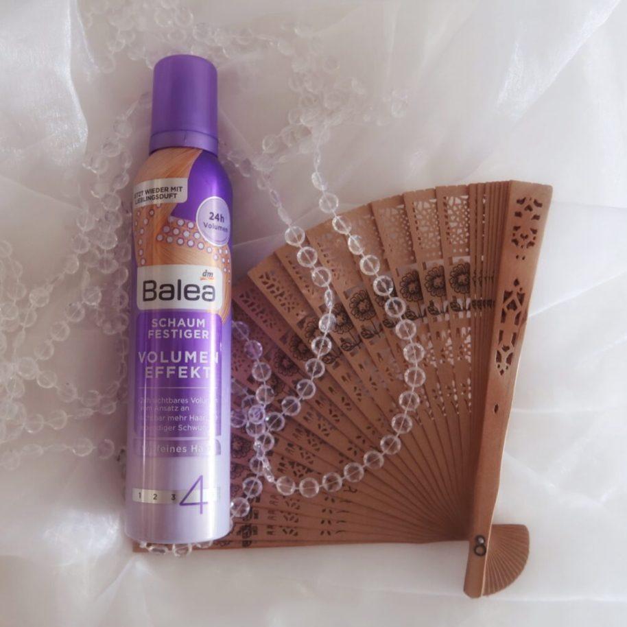 Balea, volume, effect, effekt, haarlak, hairspray, schuim, versteviger, haar versteviging, beautysome, yustsome
