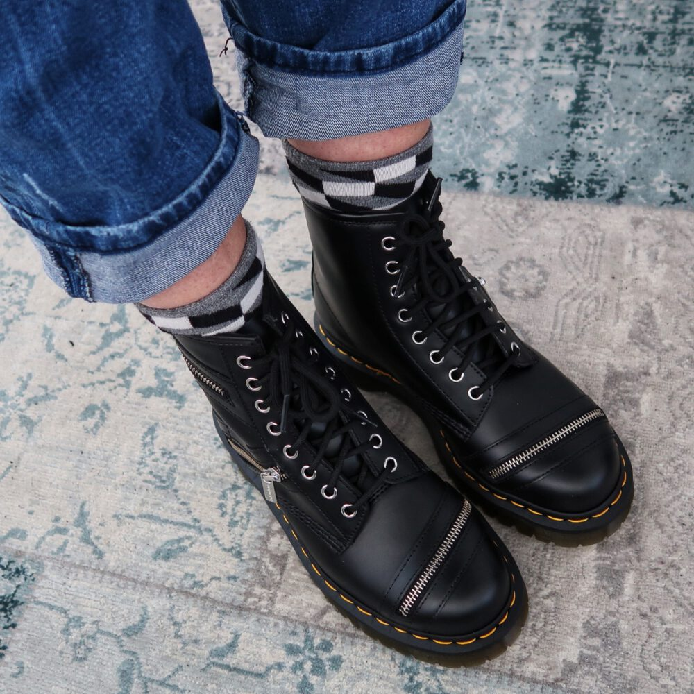 Dr. Martens, never too old to wear them