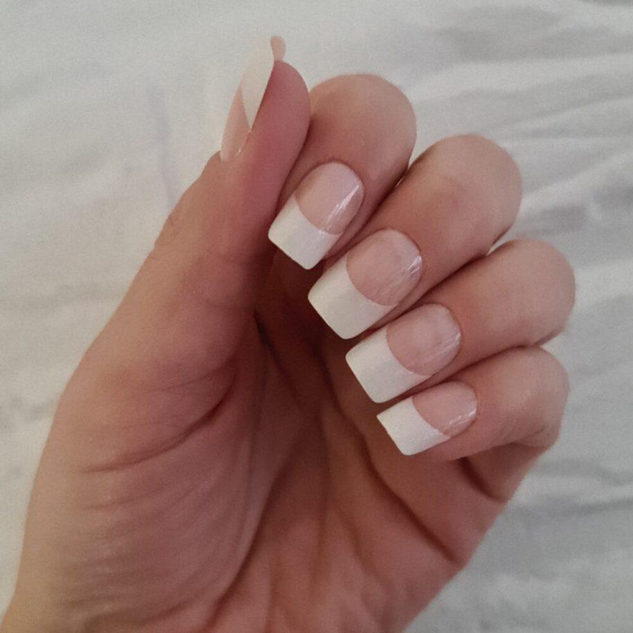 kiss, french, manicure, wedding, nails, nagels, plak, opplakken, lijm, nagellijm, beauty, review, test, beautysome