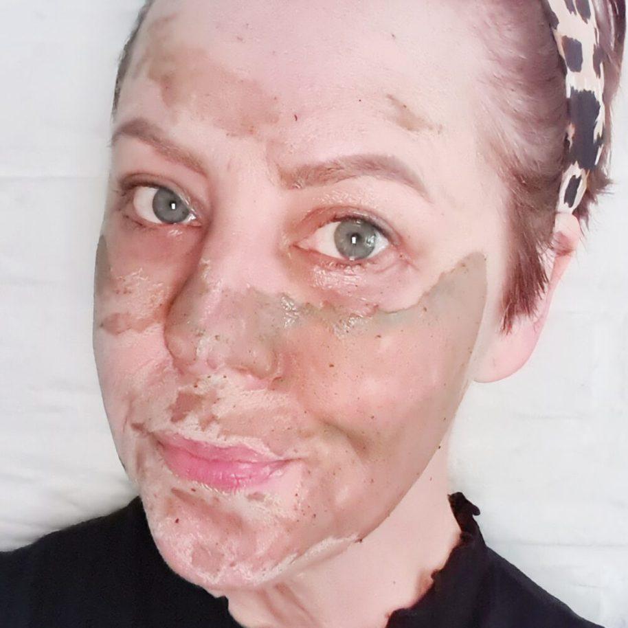 Resultaat masker Mudmasky