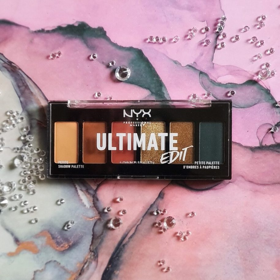 NYX Ultimate Edit petite shadow palette | Escape Artist