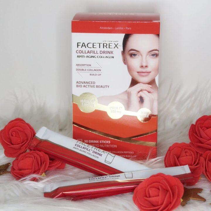 Facetrex, lift, huid, gezicht, hals, decolleté, verjonging, hyaluronzuur, collageen, review, beauty, 50 plus