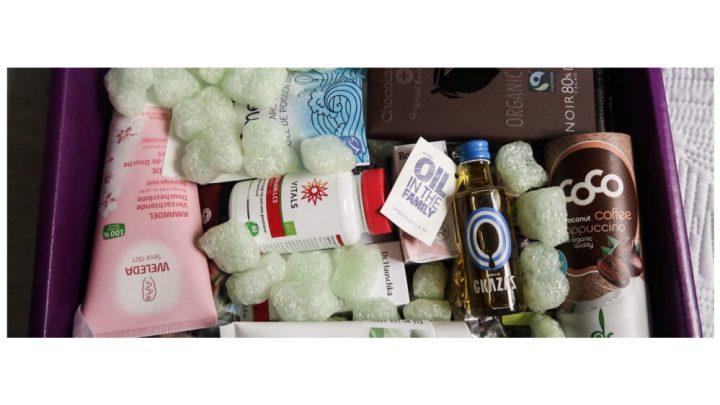 EkoPlaza, jouwbox, unboxing, Gaza's, botanique, chi, vitals, weleda, artic blue, bee honest, orthica, frankly juice, ekoplaza, love chock, organic blue, cleo's,