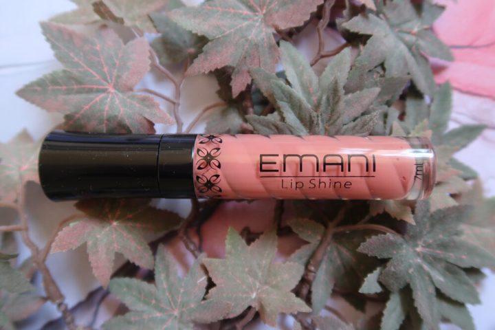 Emani, lip, shine, nude, gloss, lips, lippen, verzorging, natuurlijk, beauty, make-up, product, review, beautysome