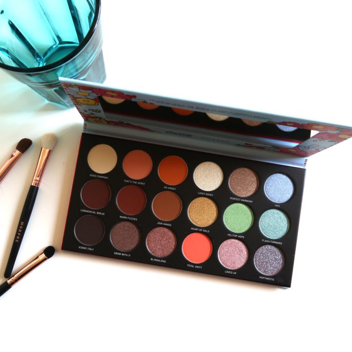coca cola, morphe, awe together artistry, palette, eyeshadow, oogschaduw, limited, edition, review, beautyblog, blog, yustsome, unity collection