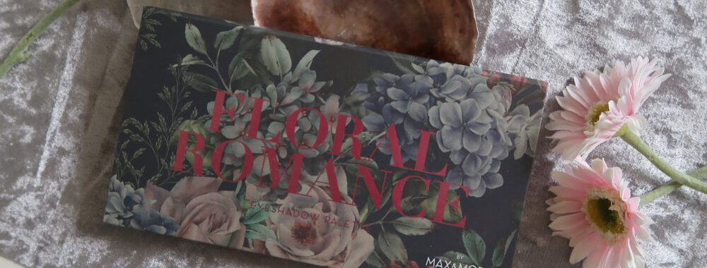 Floral, max and more, oogschaduw, eyeshadow, palette, budgettip, Romance, beauty, blog, review, action, nederland, 2