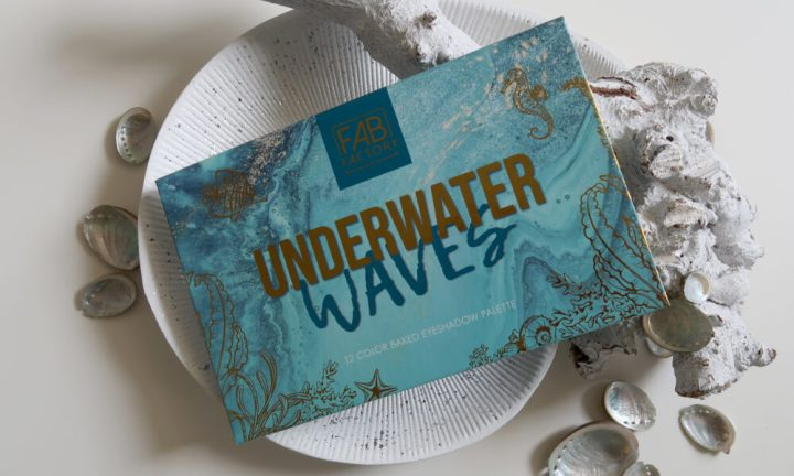 Underwater, waves, baked, eyeshadow, palette, action, nederland, Fab Factory, zee, water, beautysome, yustsome, review, 8