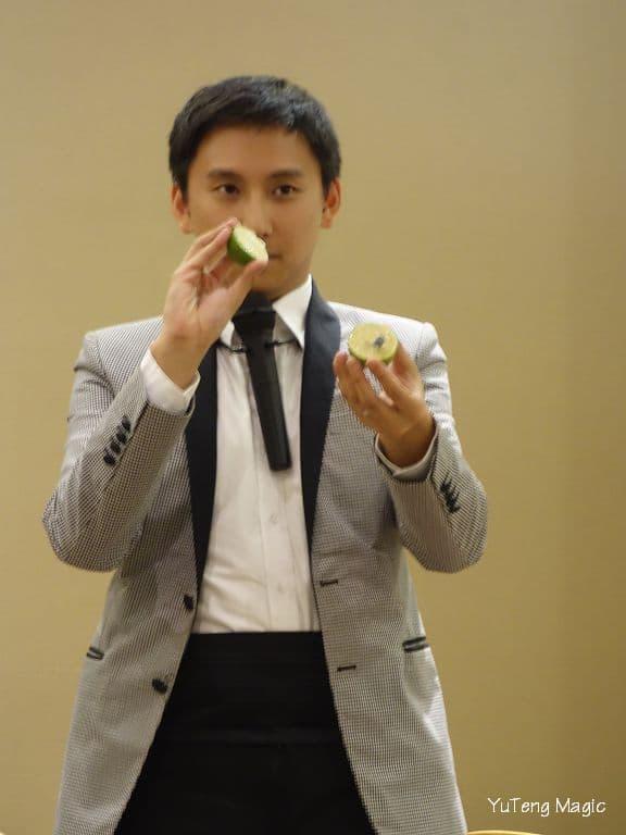 魔術表演_百達翡麗175周年晚宴 007