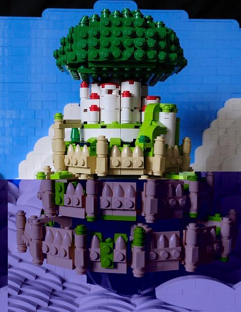 レゴの城ラピュタ