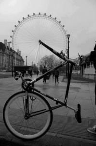 自転車の観覧車