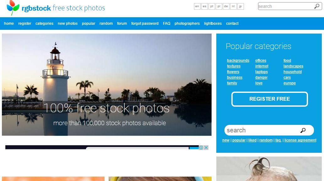 Website penyedia situs foto berkualitas dan gratis
