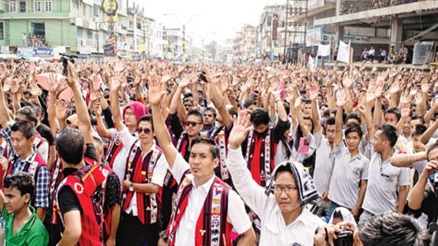 11 political parties boycott nagaland assembly election including Congress and BJP.